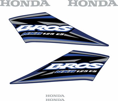 Picture of Honda Bros NXR125 ES Replacement Decals / Stickers