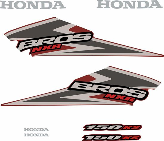 Picture of Honda Bros NXR150 ES Replacement Decals / Stickers