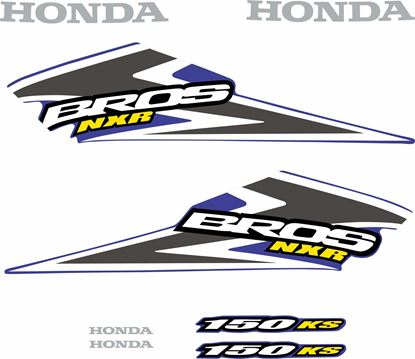 Picture of Honda Bros NXR150 KS Replacement Decals / Stickers