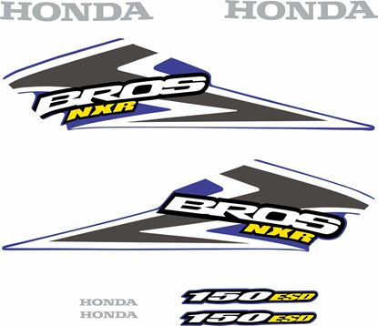 Picture of Honda Bros NXR150 ESD Replacement Decals / Stickers