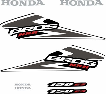 Picture of Honda Bros NXR150ES Replacement Decals / Stickers