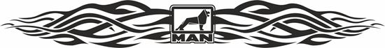 Picture of MAN windscreen / Panel  Decal / Sticker