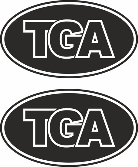 Picture of MAN TGA Glass / Panel  Decals / Stickers