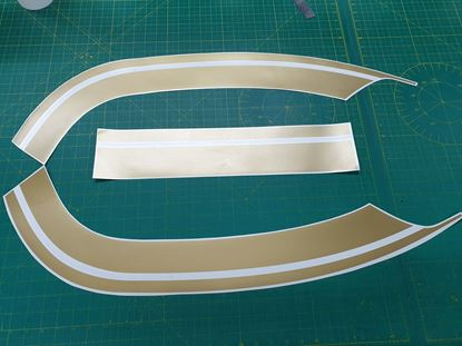 Picture of Vespa GT / GT / Gran Turismo side / front Stripes / Stickers