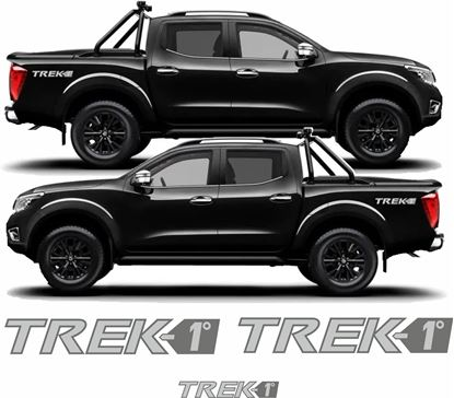 Picture of Nissan Navara Trek-1° Limited Edition  replacement Decals / Stickers
