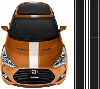 Picture of Hyundai Veloster OTT  Stripes / Stickers