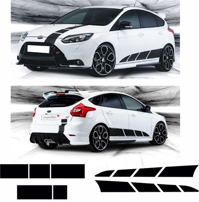 Picture of Ford Focus ST / RS OTT & Side stripes
