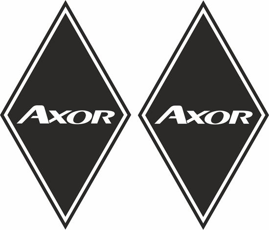 Picture of Mercedes Axor  front corner / General Panel  Decals / Stickers