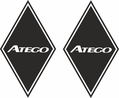 Picture of Mercedes Atego front corner / General Panel  Decals / Stickers