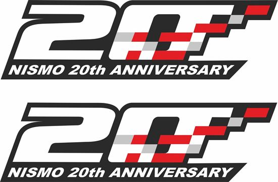 "Picture of Nissan  ""Nismo 20th Anniversary"" Decals / Stickers"