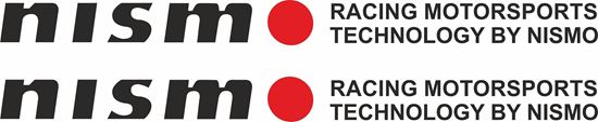 """Picture of Nissan  """"Nismo Racing...."""" Decals / Stickers"""