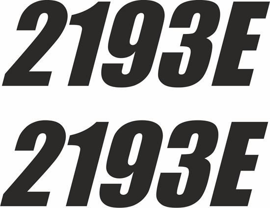 "Picture of Nismo Oil ""2193E"" Decals / Stickers"