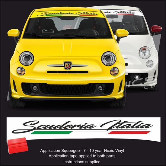 """Picture of """"Scuderia Italia"""" Sunstrip  / Sticker"""