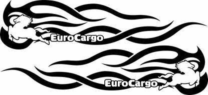 Picture of Iveco Euro Cargo Panel  Decals / Stickers