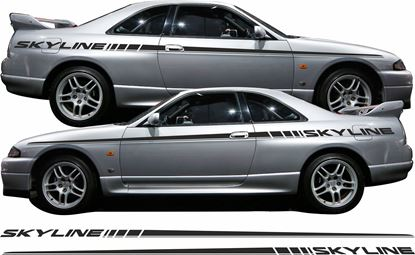 Picture of Nissan Skyline R33 side Stripes /  Stickers