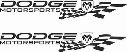 Picture of Dodge Motorsports Decals / Stickers