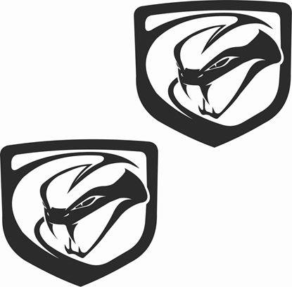 Picture of Dodge Viper  Decals /  Stickers