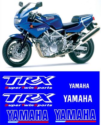 Picture of Yamaha TRX 850 1996 - 2000 Replacement Decals / Stickers
