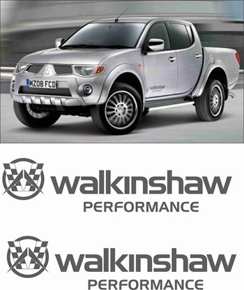 Picture of Mitsubishi L200 Wilkinshaw side replacement Decals / Stickers
