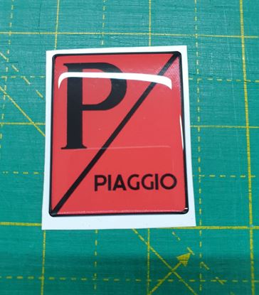 "Picture of Vespa ""Piaggio""front Fairing Horncast insert for Badge Holder"