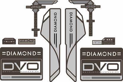 Picture of DVO  Diamond Boost 29 2016 Frame Sticker kit