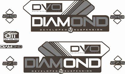 Picture of DVO  Diamond 29 / 27.5 2016 Frame Sticker kit