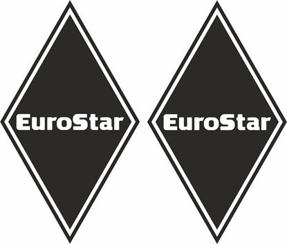 Picture of Iveco Euro Star front corner Panel Decals / Stickers