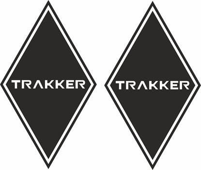 Picture of Iveco Trakker front corner Panel Decals / Stickers