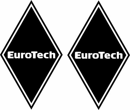 Picture of Iveco Euro Tech front corner Panel Decals / Stickers