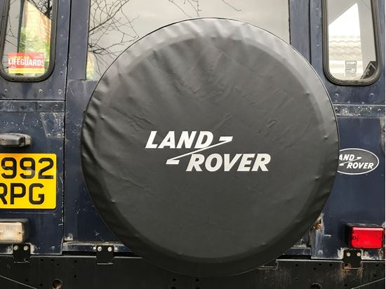 Picture of Land Rover Defender 90 / 110 Rear wheel cover Decal / Sticker
