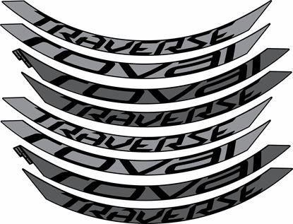 Picture of Roval Traverse Alloy 650B  2015 / 16 / 17 Stickers