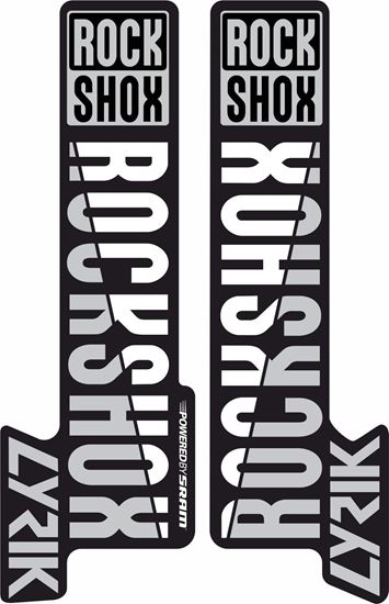 Picture of RoxShox Lyrik 2018  Stickers