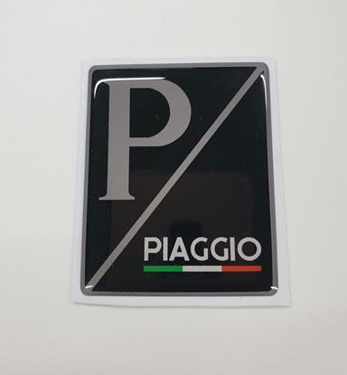 "Picture of Vespa ""Piaggio""Italian front Fairing Horncast insert for Badge Holder"