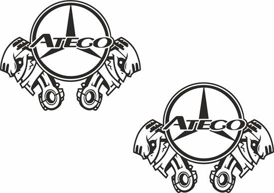 Picture of Mercedes Axor general Panel Decals / Sticker