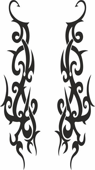 Picture of Decorative general Panel / Glass Decals / Stickers