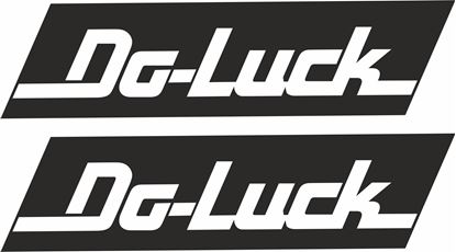 "Picture of ""Do Luck""Decals / Stickers"
