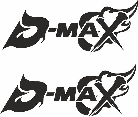 """Picture of """"D- Max""""Decals / Stickers"""