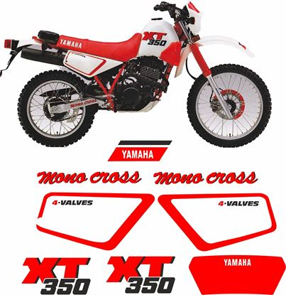 Picture of Yamaha XT350 1991 Replacement Decals / Stickers
