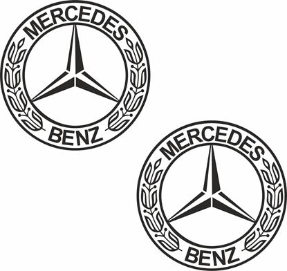 Picture of Mercedes general Panel  Decals / Stickers