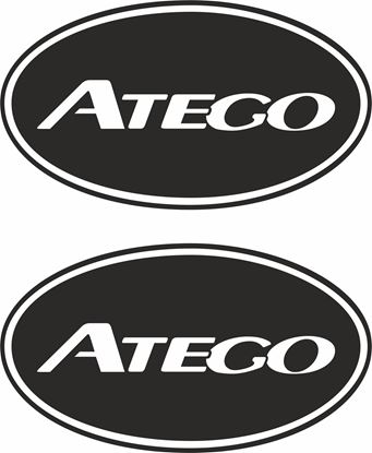 Picture of Mercedes Atego general Panel / Glass  Decals / Sticker