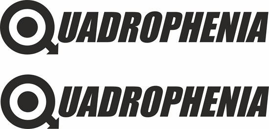 """Picture of Lambretta / Vespa  """"Quadrophenia"""" General Panel Decals / Stickers"""