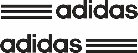 "Picture of Lambretta / Vespa  ""adidas"" General Panel Decals / Stickers"