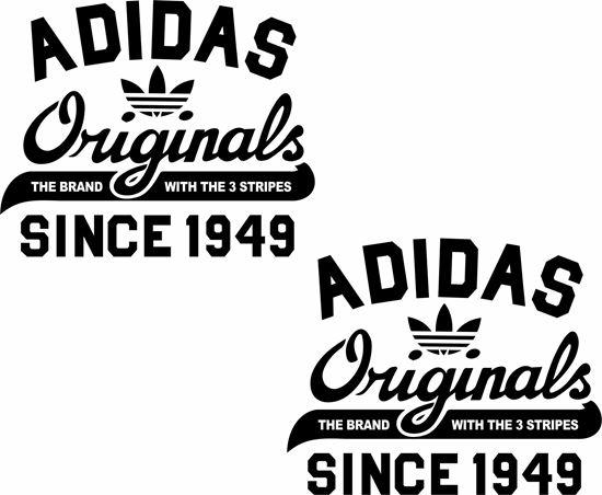 "Picture of Lambretta / Vespa  ""adidas Originals 1949"" General Panel Decals / Stickers"