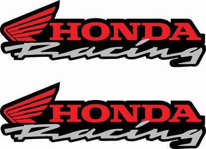 Picture of Honda Racing Decals / Stickers