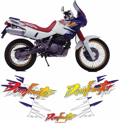 Picture of Honda NX650 Dominator 1998 Restoration Decals / Stickers