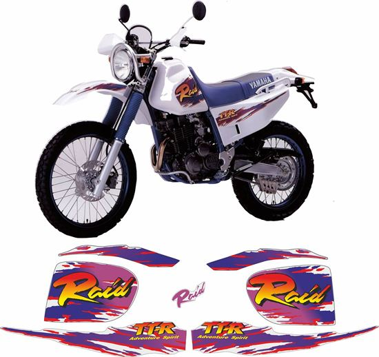 Picture of Yamaha TT250R Raid 2007 Replacement Decals / Stickers