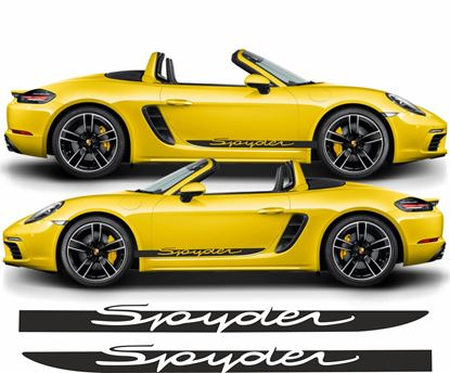 Picture of Porsche 718 Spyder side Stripes / Stickers