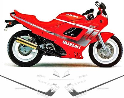 Picture of Suzuki GSXS600F 1990 -1991 replacement Decals / Stickers COLOUR OPTIONS
