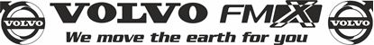 Picture of Volvo FMX  Front screen Decal / Sticker