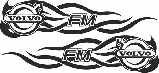 Picture of Volvo FM general panel / Glass  Decals / Stickers